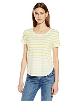Splendid - Sunfaded Stripe Jersey Tee Shirt