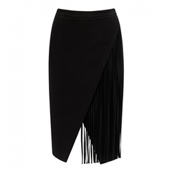 Forever New - Shelley Fringed Wrap Skirt