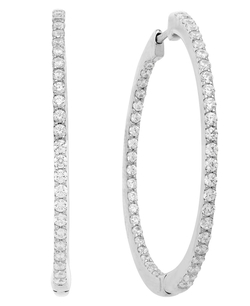 Arabella - Swarovski Zirconia Hoop Earrings