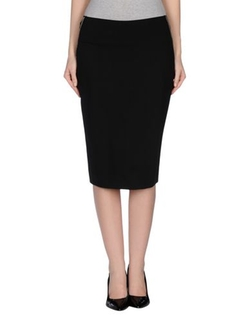 Donna Karan - Jersey Knee Length Skirt