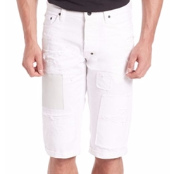 PRPS  - Patchwork Cotton Shorts