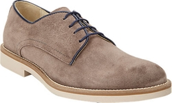 Barneys New York  - Suede Four-Eye Bluchers Shoes