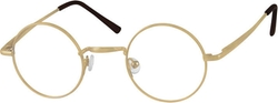 Zenni - Metal Alloy Full-Rim Frame With Spring Hinge Eyeglasses