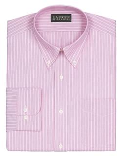 Lauren Ralph Lauren - Classic Fit Striped End On End Dress Shirt