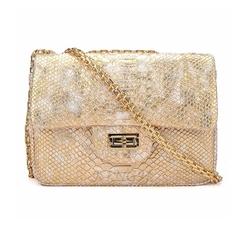 Kingh - Leather Snakeskin Shoulder Bag
