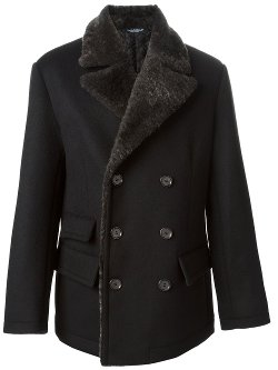 Dolce & Gabbana  - Short Double Breasted Coat