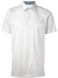 Brioni -  Pointed Collar Polo Shirt