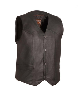 Sunrise Outlet - The Texan Leather Motorcycle Vest