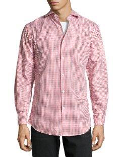 Neiman Marcus  - Check Sport Shirt