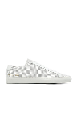Common Projects - Original Achilles Perforated Sneakers