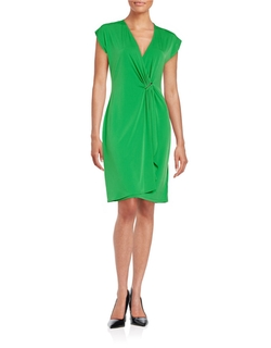Michael Michael Kors - Mock Wrap Dress