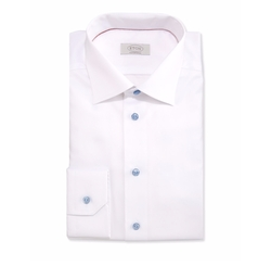 Eton - Contemporary-Fit Textured Solid Dress Shirt