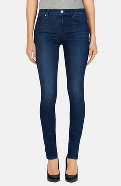 J Brand - Mid Rise Skinny Jeans