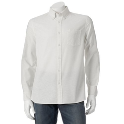 Sonoma Life + Style - Solid Oxford Button-Down Shirt