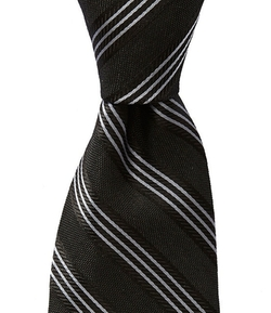 Murano -  Slim Striped Silk Tie