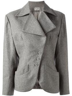 ALAÏA VINTAGE  - fitted blazer
