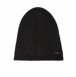 John Varvatos Star USA  - Pleated Wool Rib-Knit Skull Hat
