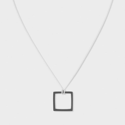 Paul Smith  - Sterling Silver Square Necklace