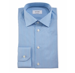Eton - Contemporary-Fit Striped Dress Shirt