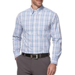 PGA Tour - Performance Plaid Cotton Shirt