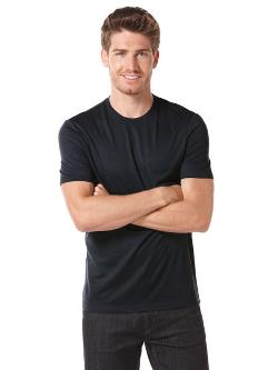 PERRY ELLIS - LUXE CREW KNIT TEE
