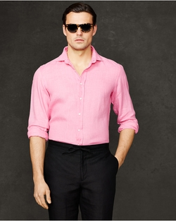 Ralph Lauren - Linen Aston Sport Shirt