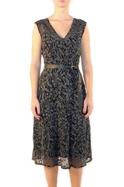 Flairwalk, Oregon - Fold Pleat Frock Dress