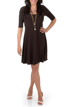 Timeless By Journee - Comfort A-Line Dress