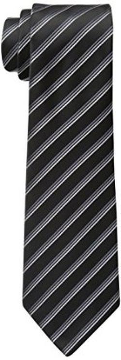 Little Black Tie - Striped Silk Tie