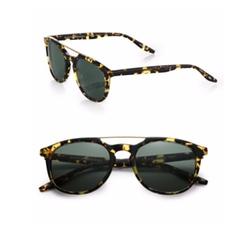 Barton Perreira - Rainey Metal & Acetate Sunglasses