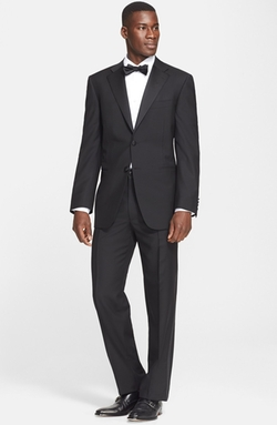 Canali  - Classic Fit Wool & Mohair Tuxedo