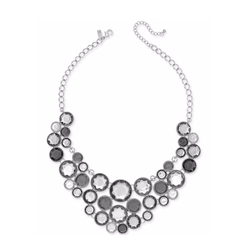 INC International Concepts - Multi-Stone Bubble Statement Necklace