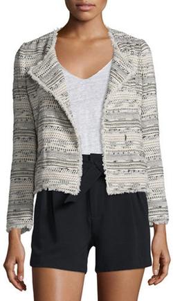 Joie - Nicols Multicolored Tweed Jacket