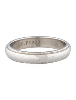 Tiffany & Co.  - Milgrain Wedding Band Ring