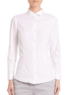 Eleventy  - Classic Poplin Shirt