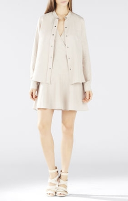 BCBGMAXAZRIA - Tamera Two-Layer Dress