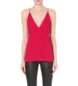 Dion Lee - Sheer Fine Line Chiffon Cami Top