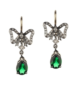 Queensbee  - Bow and Drop Earring