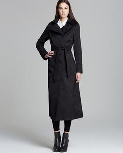 DKNY - Lea Maxi Trench Coat