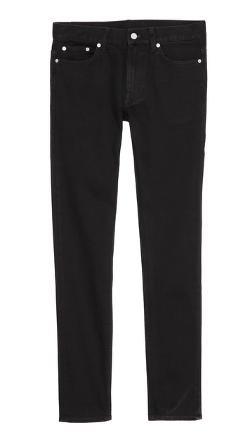 BLK DNM  - Skinny Fit Raw Jeans