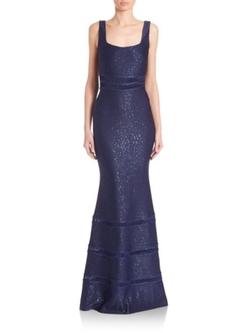 St. John  - Shimmering Mermaid Gown
