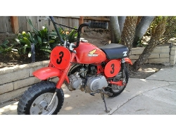 Honda - 1979 Z Series 50R Dirt Bike