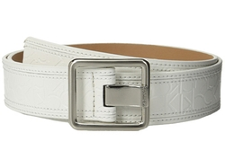 Calvin Klein - Flat Strap Leather Belt