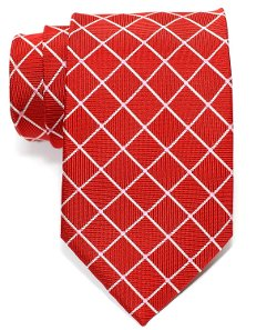 Retreez - Check Pattern Necktie