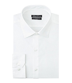 Kenneth Cole New York - Slim-Fit Spread-Collar Dress Shirt