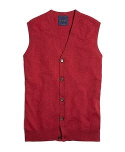Brooks Brothers - Cashmere Button-Front Vest