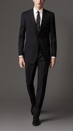 BURBERRY - Classic Fit Virgin Wool Suit