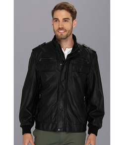 Calvin Klein - PU Bomber Jacket