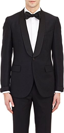 Boglioli - Single-Button Slub Tuxedo Jacket