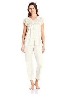 Shadowline  - Silhouette Short Cap Sleeve Pajama Set